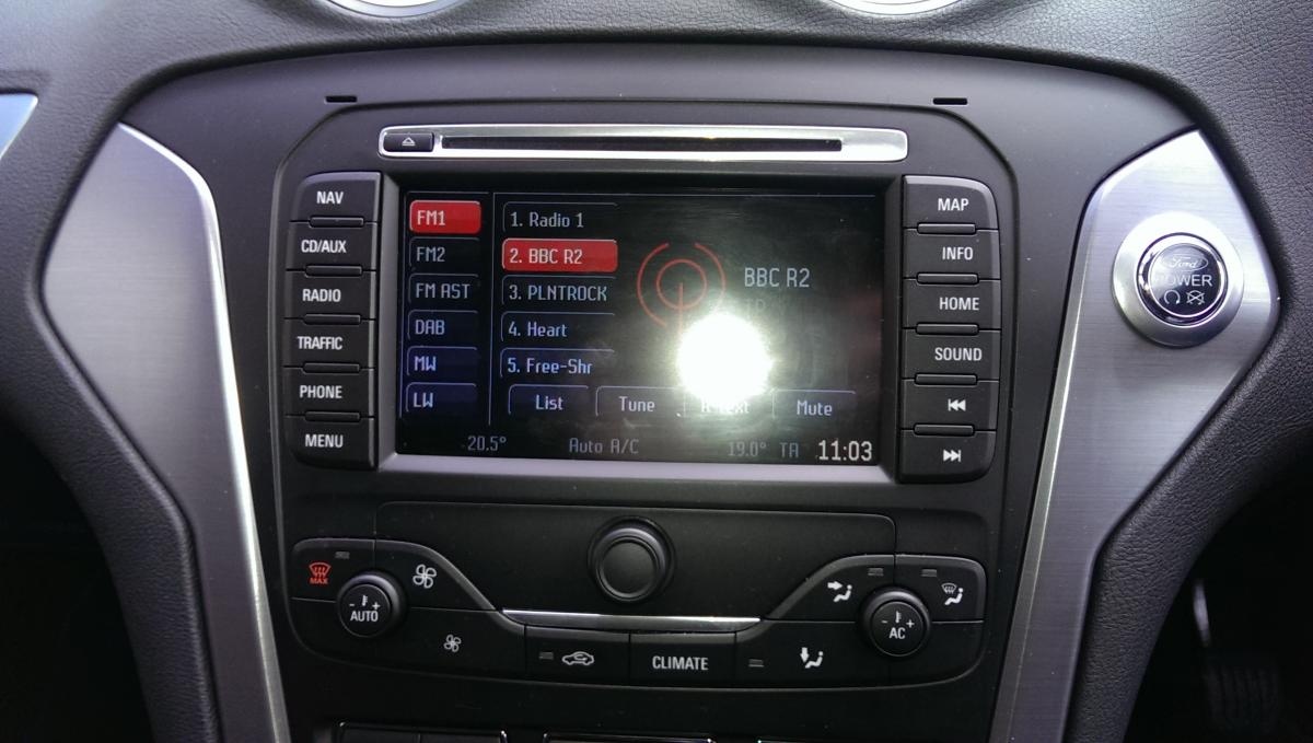 Vaak dab radio not working - Ford Mondeo / Vignale Club - Ford Owners  KS-61