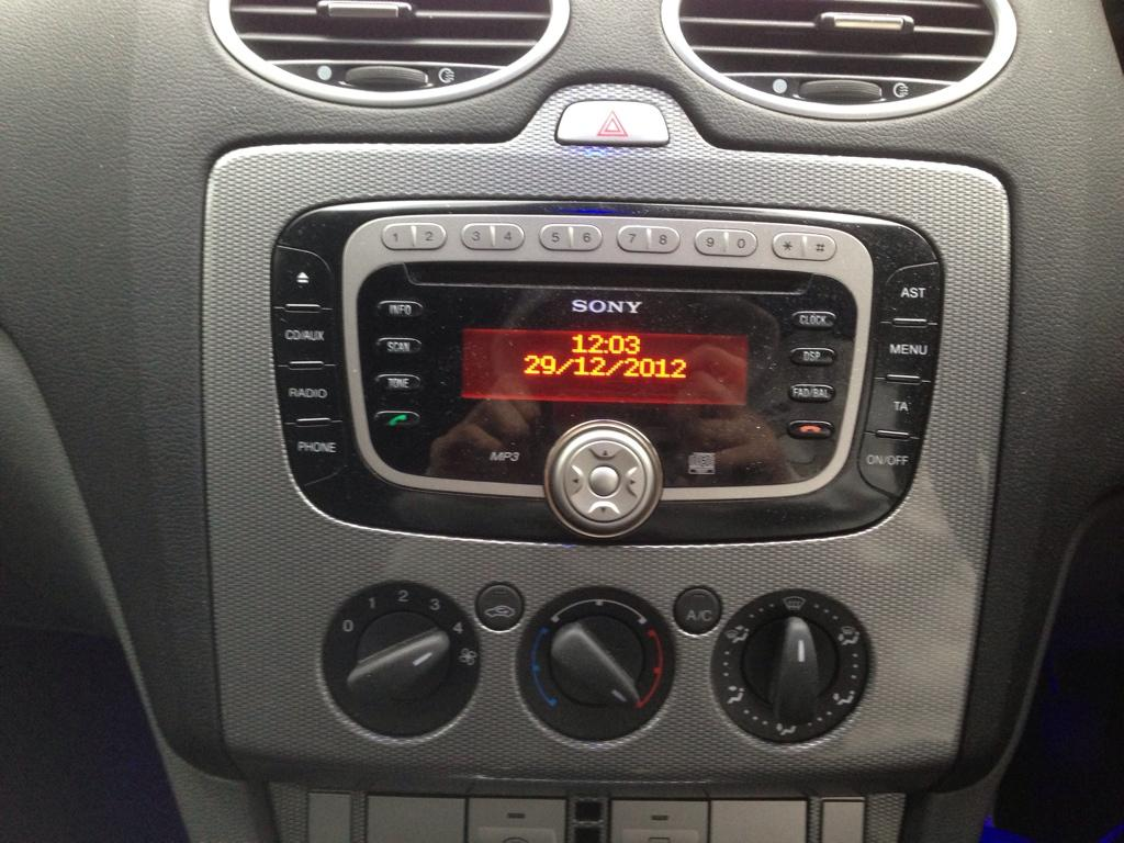 07 Focus Curved Stereo Surround Ford Focus Club Ford