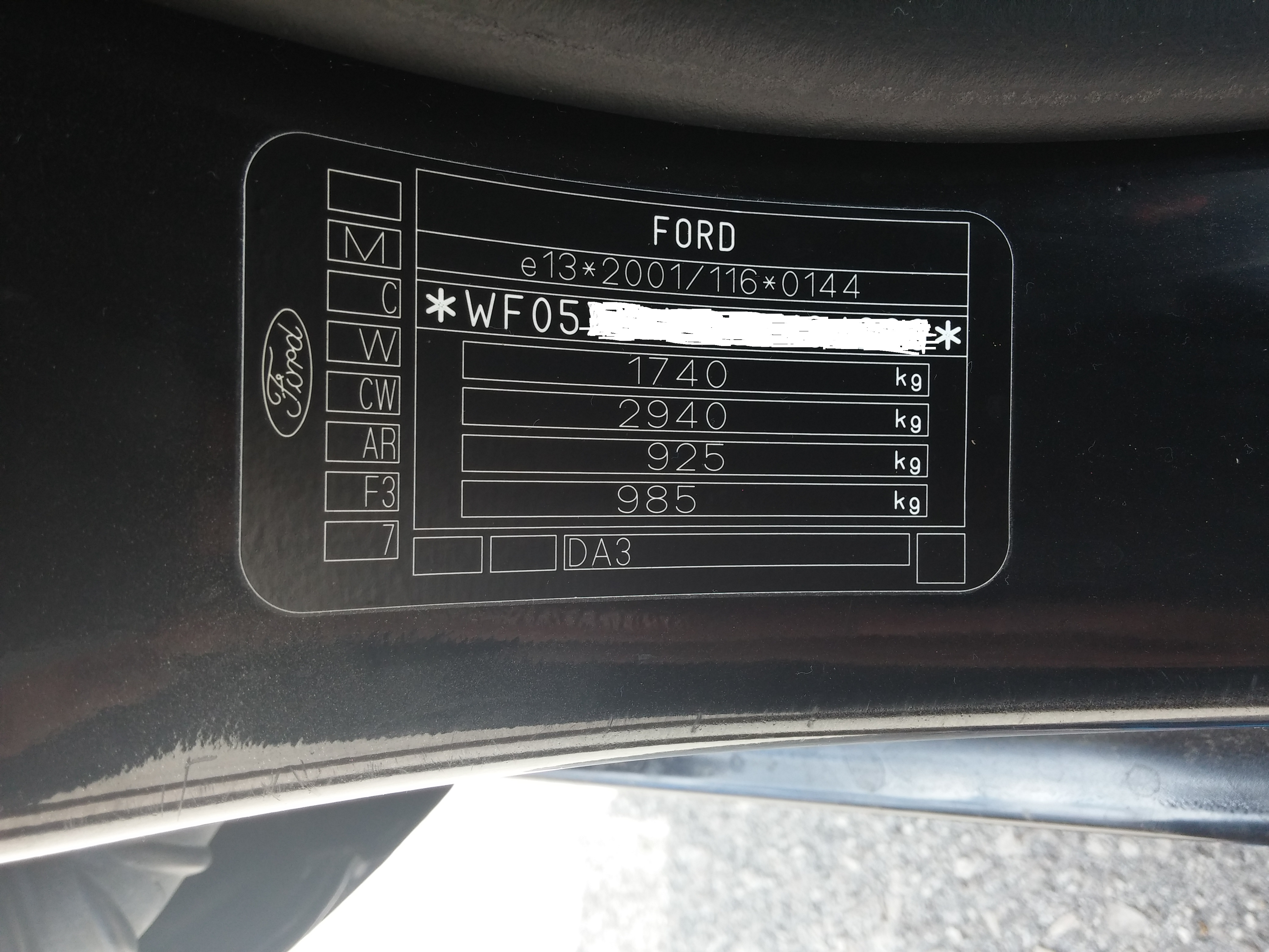 Paint Code Issues Ford Fiesta Club Ford Owners Club Ford Forums