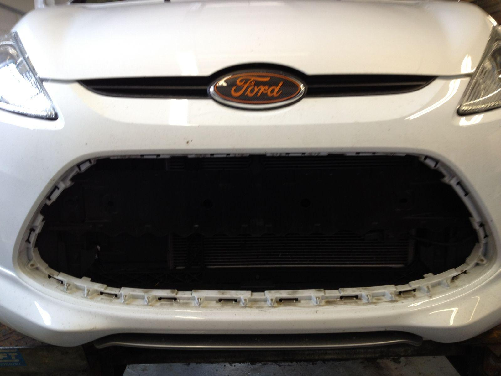 Grill Removed