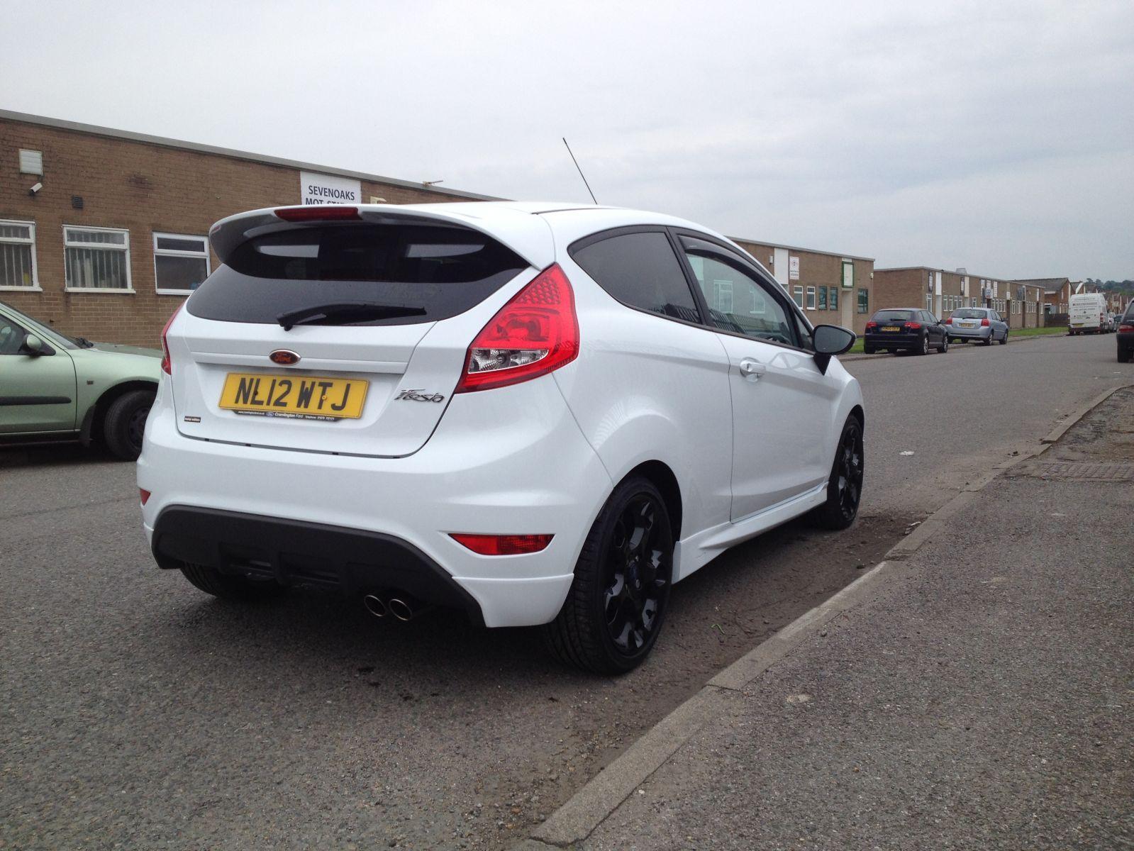 Freshly Cleaned car rear