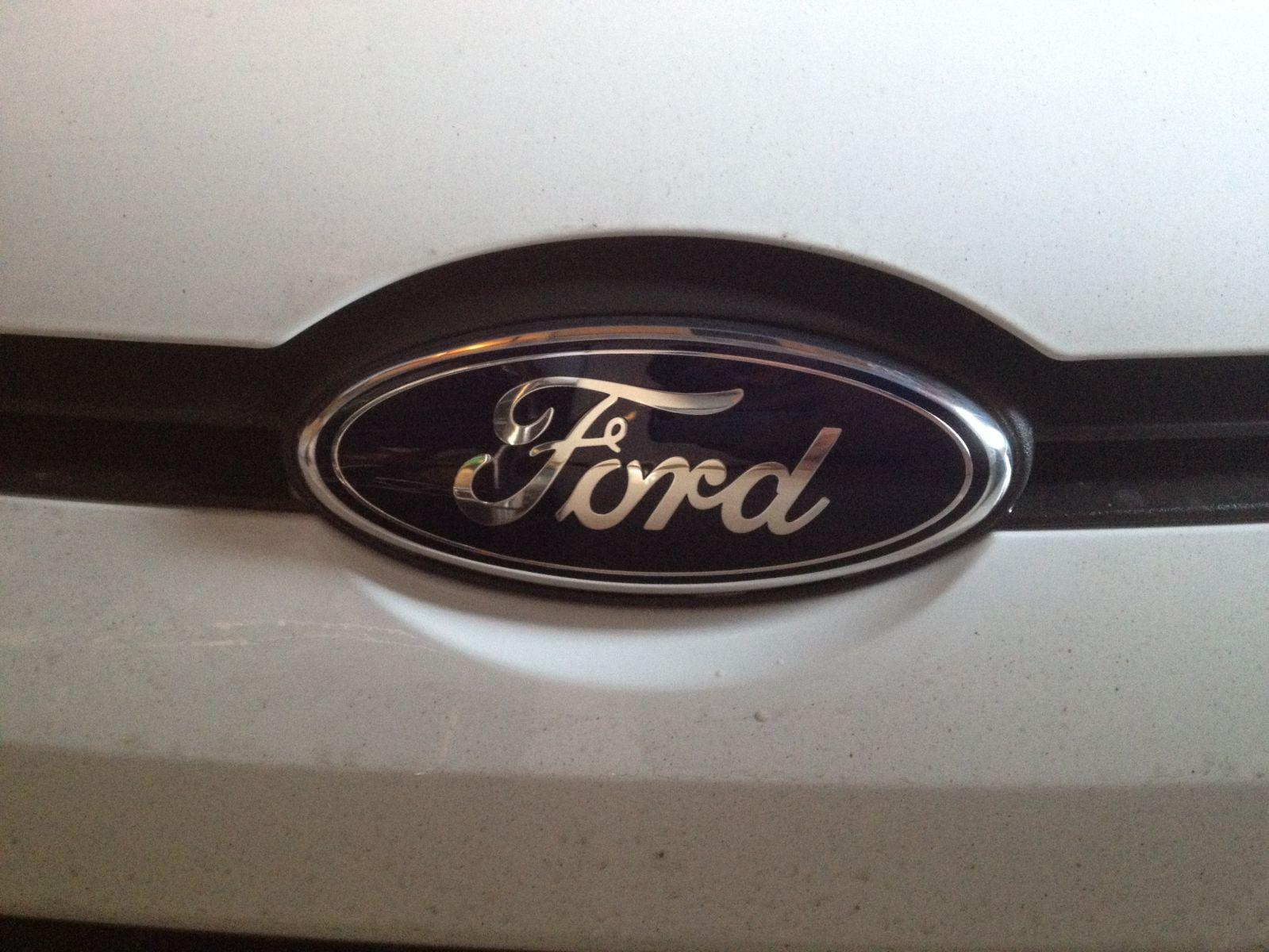 Ford Badge before....