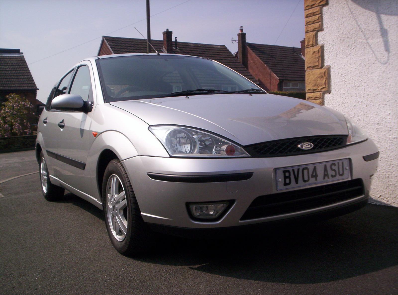 Silver Zetec Focus, 1.6 5 door.