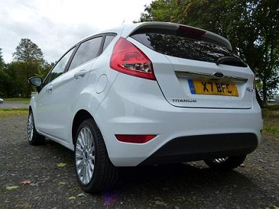 Fiesta 1.4 Titanium in Frozen White