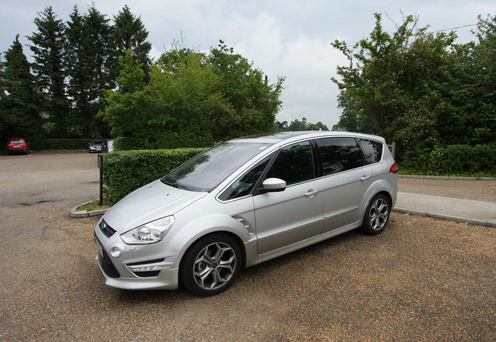 My first S-Max Titanium-X at Down House - home of Charles Darwin.
