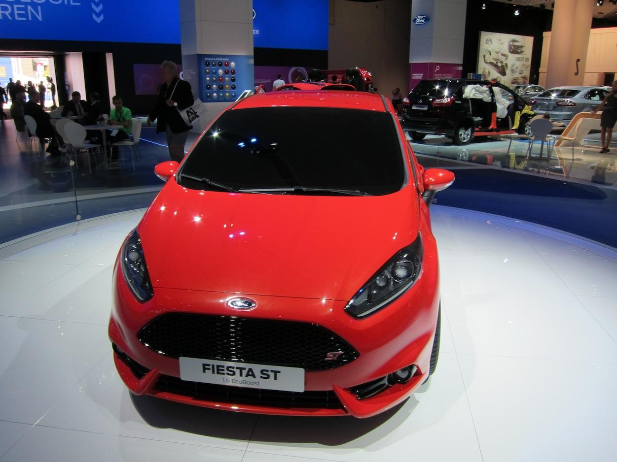 Ford Fiesta ST  front