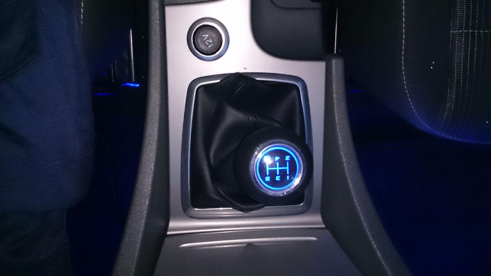 new led gear knob