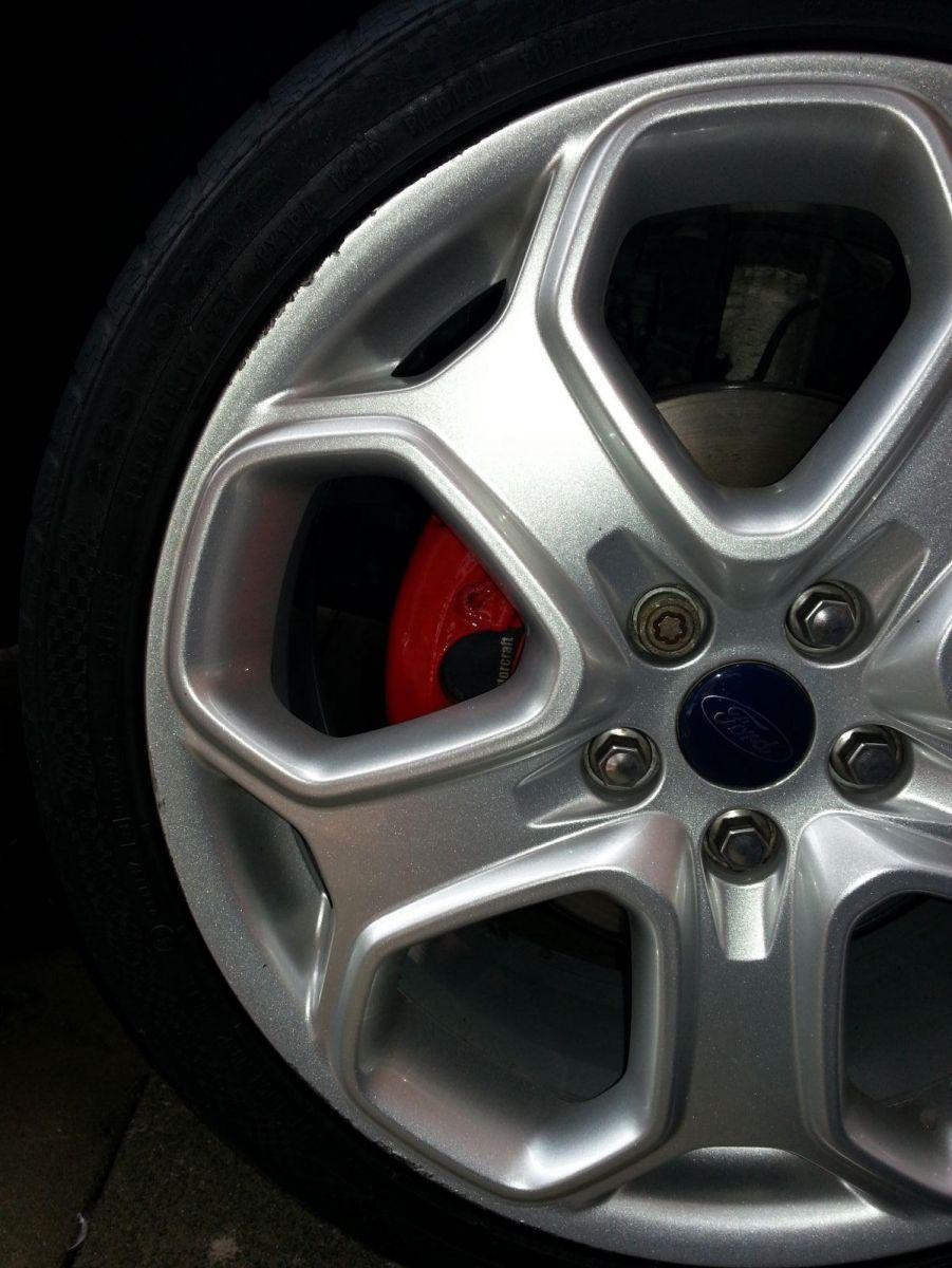 calipers all finshed with alloy back on