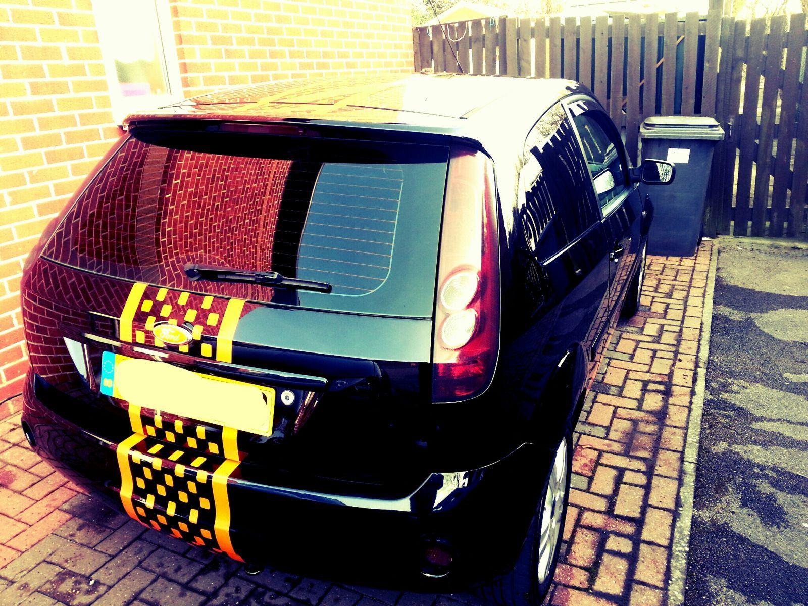 Fiesta rear