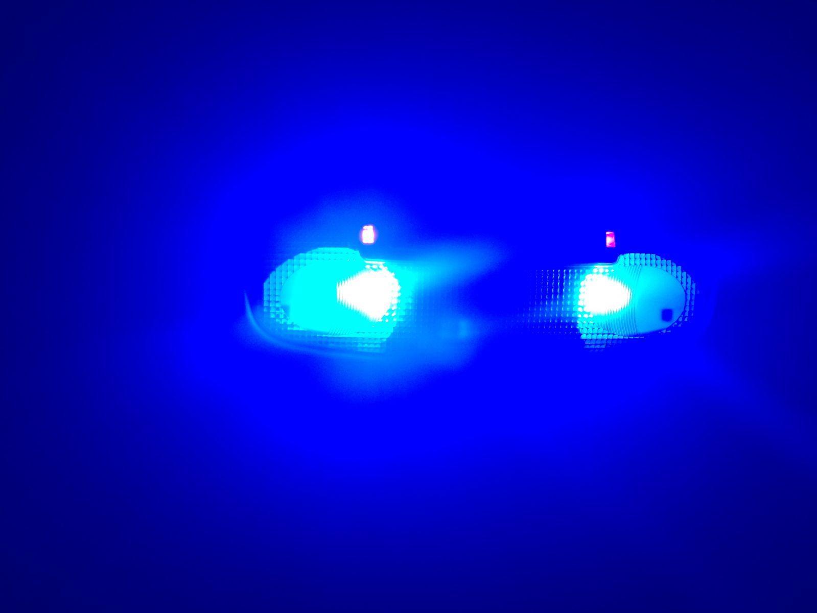 Blue Reading Lights