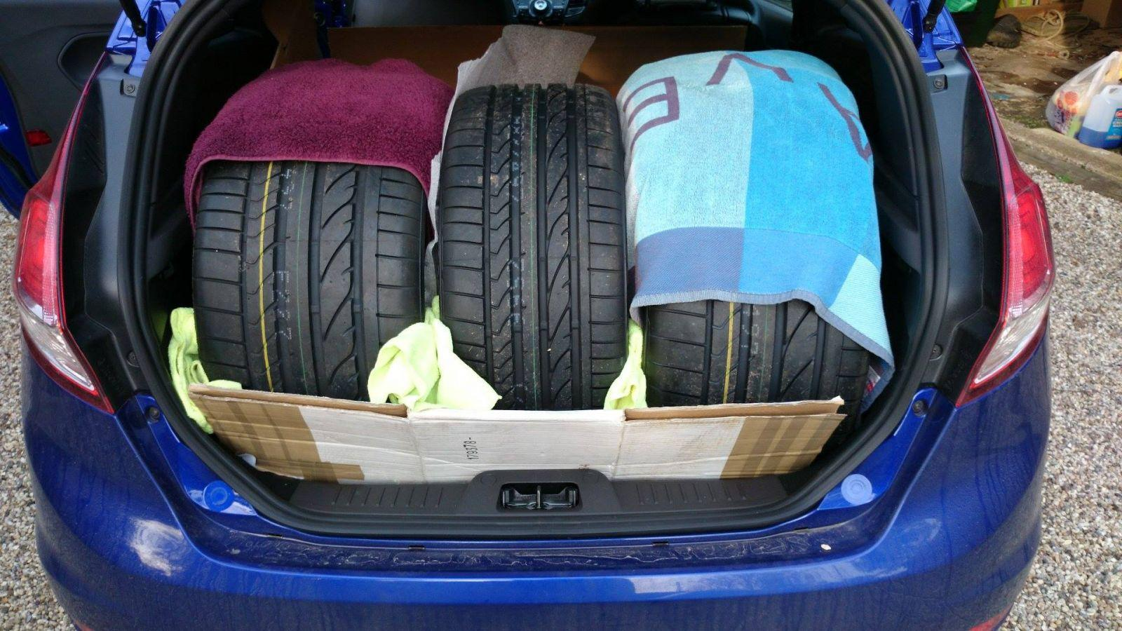 An Efficient use of a Fiesta's boot