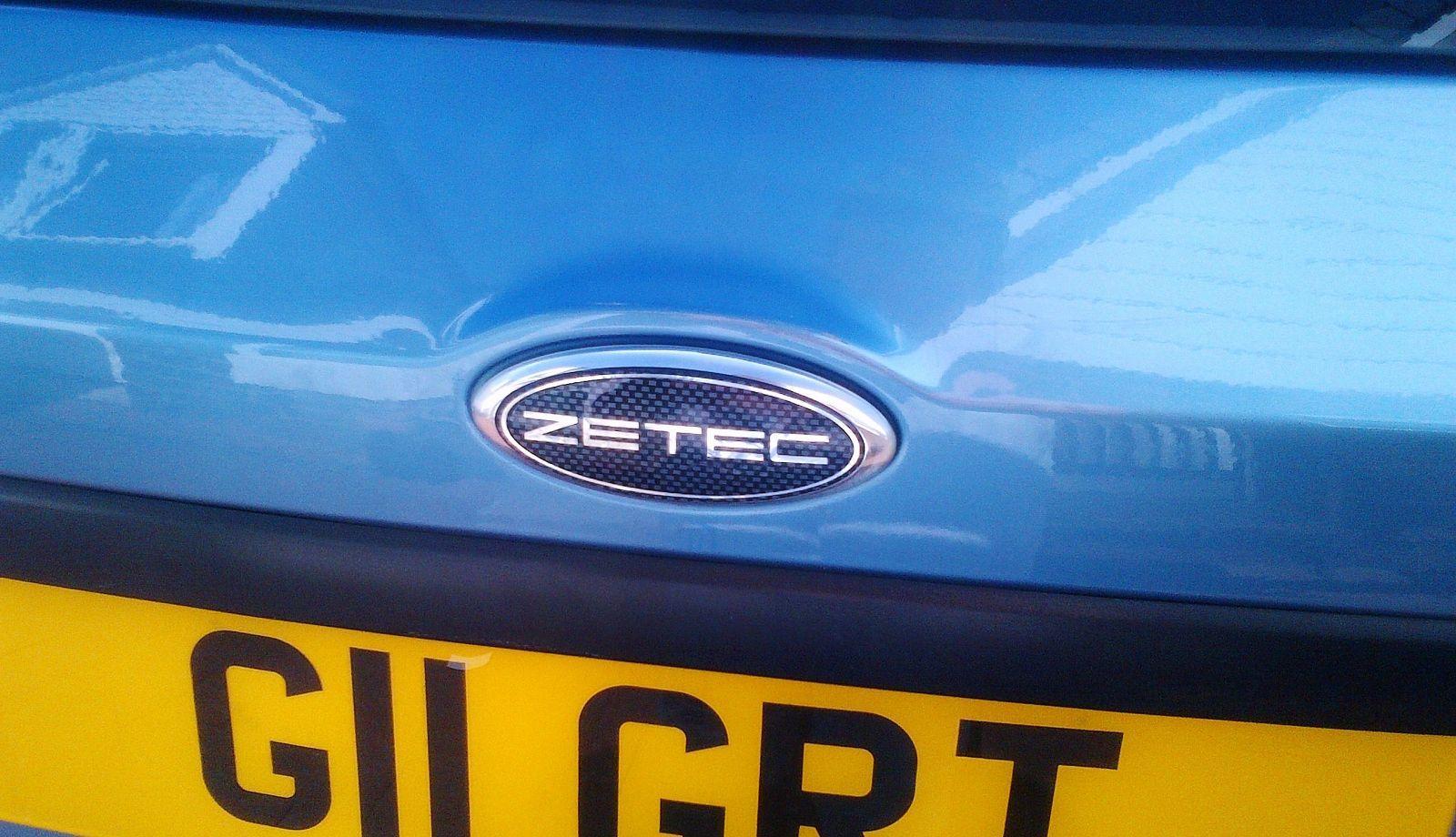 zetec rear gel overlay