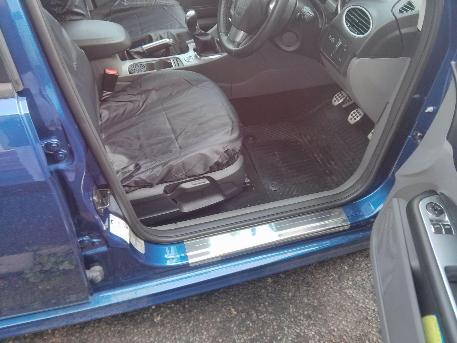 Lockwood kick plates and Genuine ford rubber mats