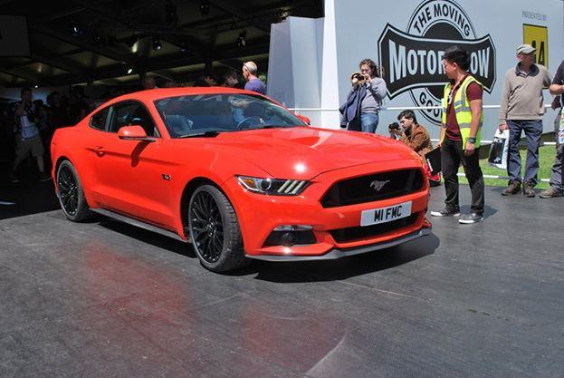 2015 Mustang Fastback