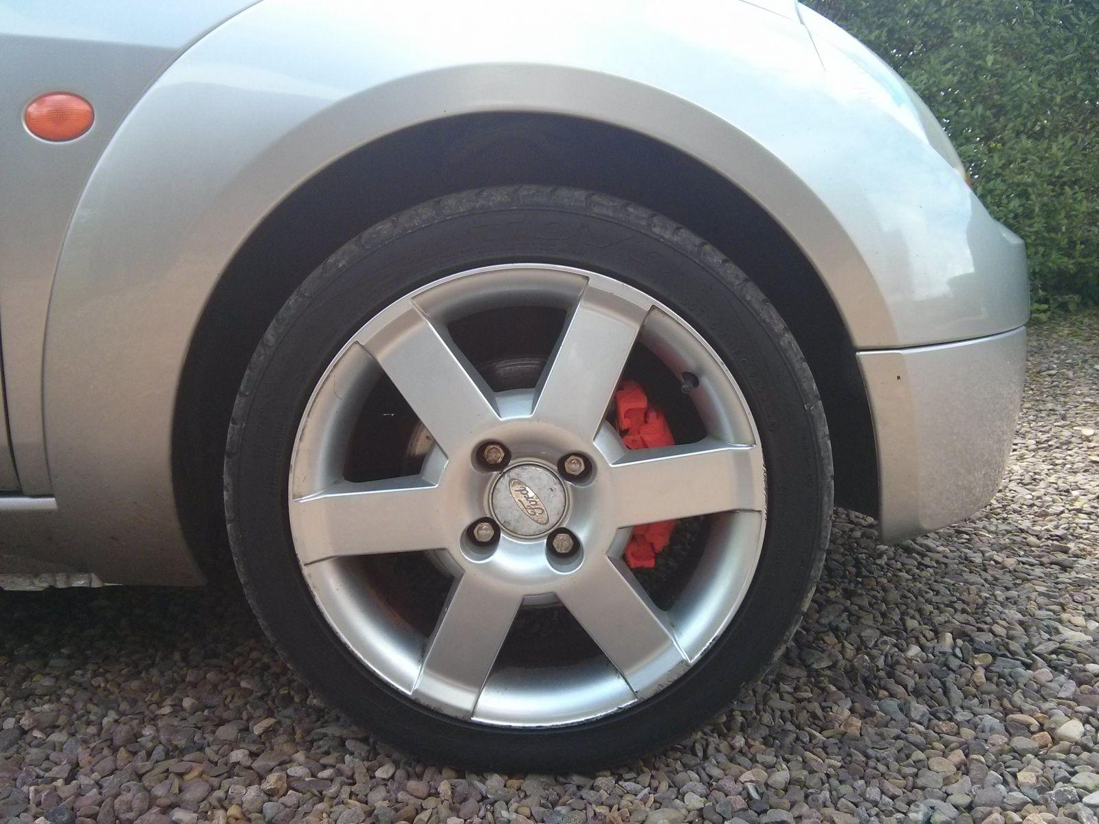 Painted Callipers