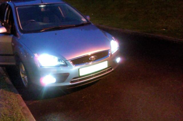 xenon front lights and fogs