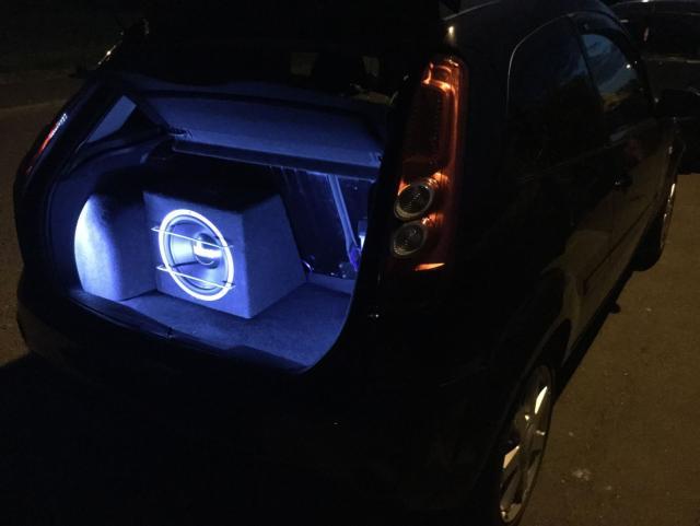 LED Boot Light Install