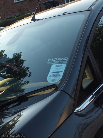 Ford Owners Club sticker