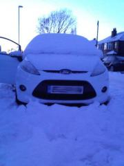 6 inch snow!