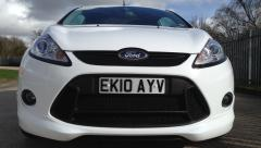 New number plate to fit RS grill
