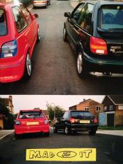 My car & my mates RS turbo