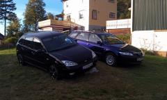 My car and my dads mazda 6