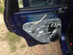 Sticking Rear Door
