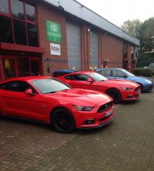 x2 Mustangs for the new Castrol Edge Ad