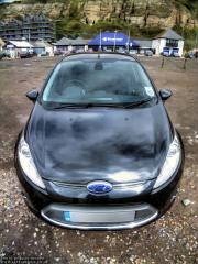 Front of my new Fiesta Titanium