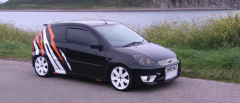 Fiesta zs black tdci 2005