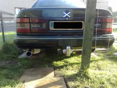 New exhaust fitted, looks better than the old one.