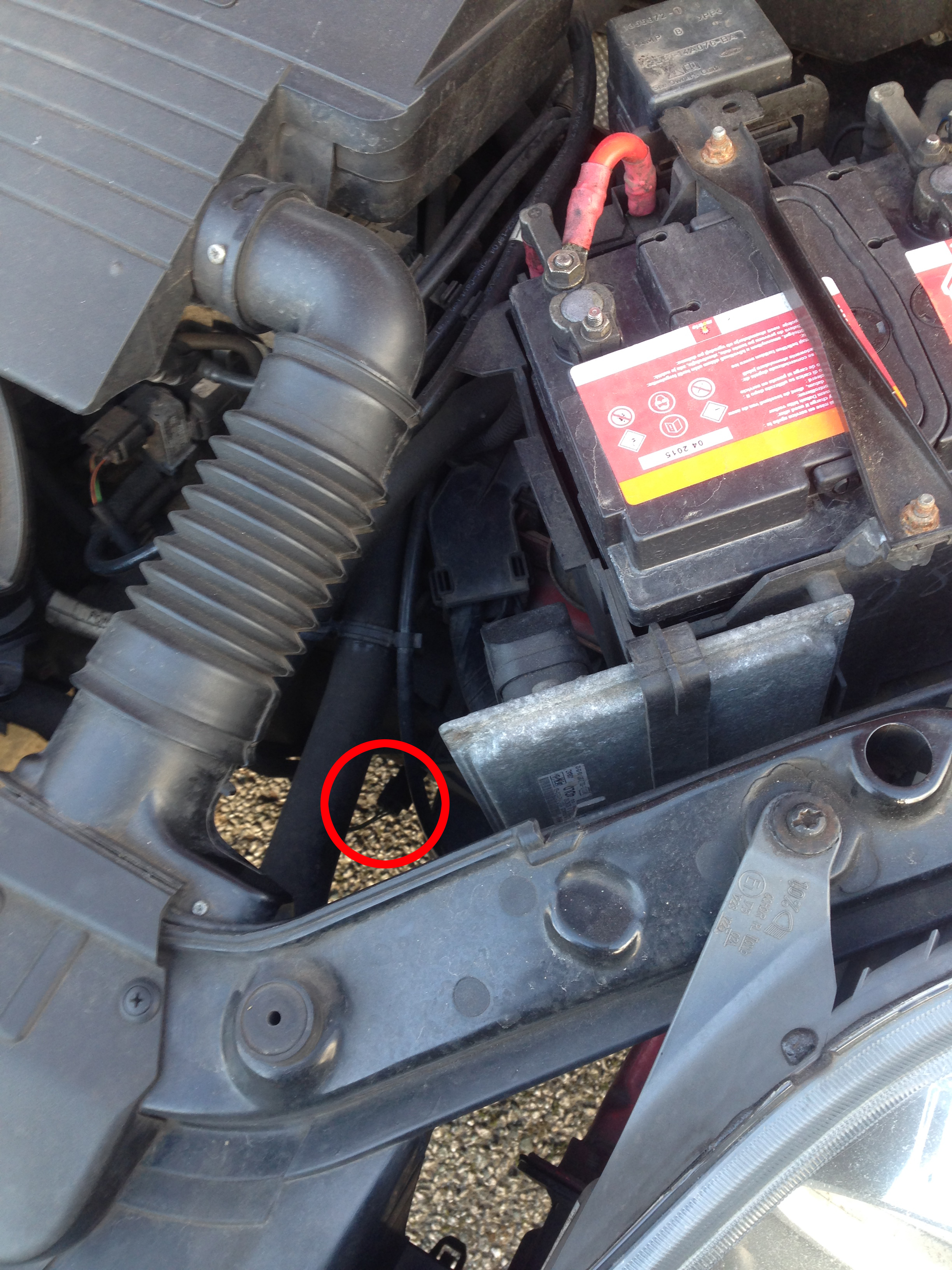 ford backup light switch location