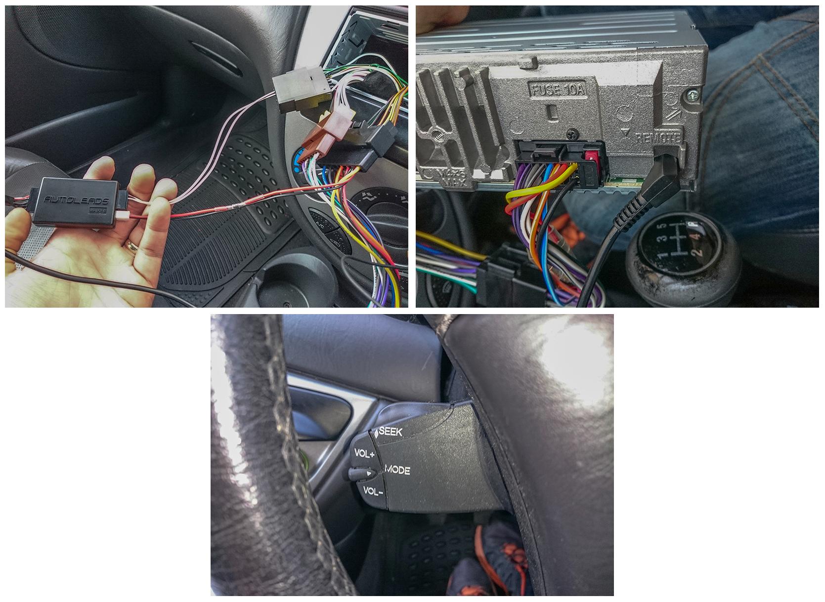 Steering Stalk Controls For Sony Mex N5100bt Ford Focus Club Wiring Harness Dsc 0051