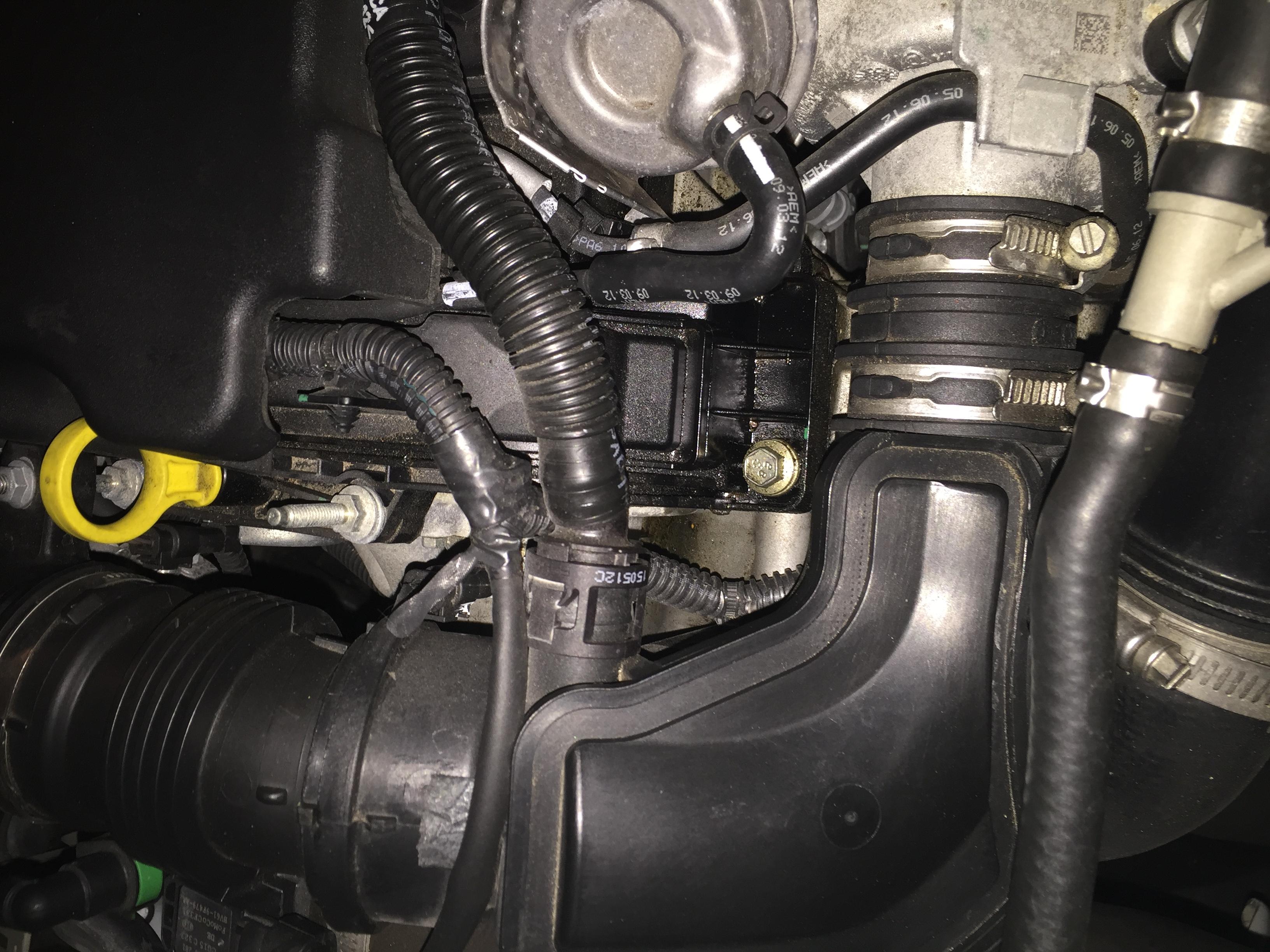 1 0 Ecoboost oil leak - Ford Fiesta Club - Ford Owners Club