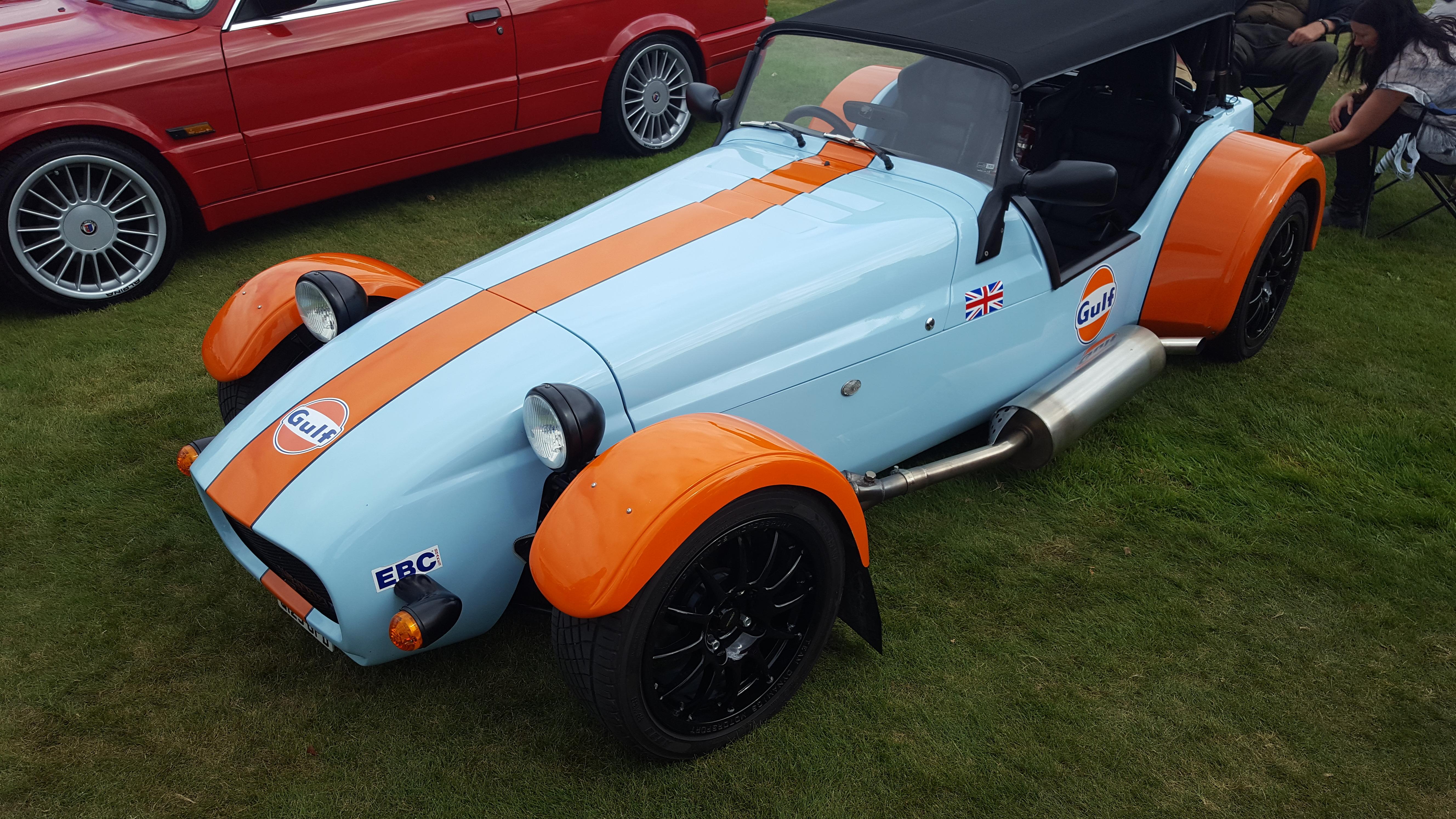 Locke Park Car Show