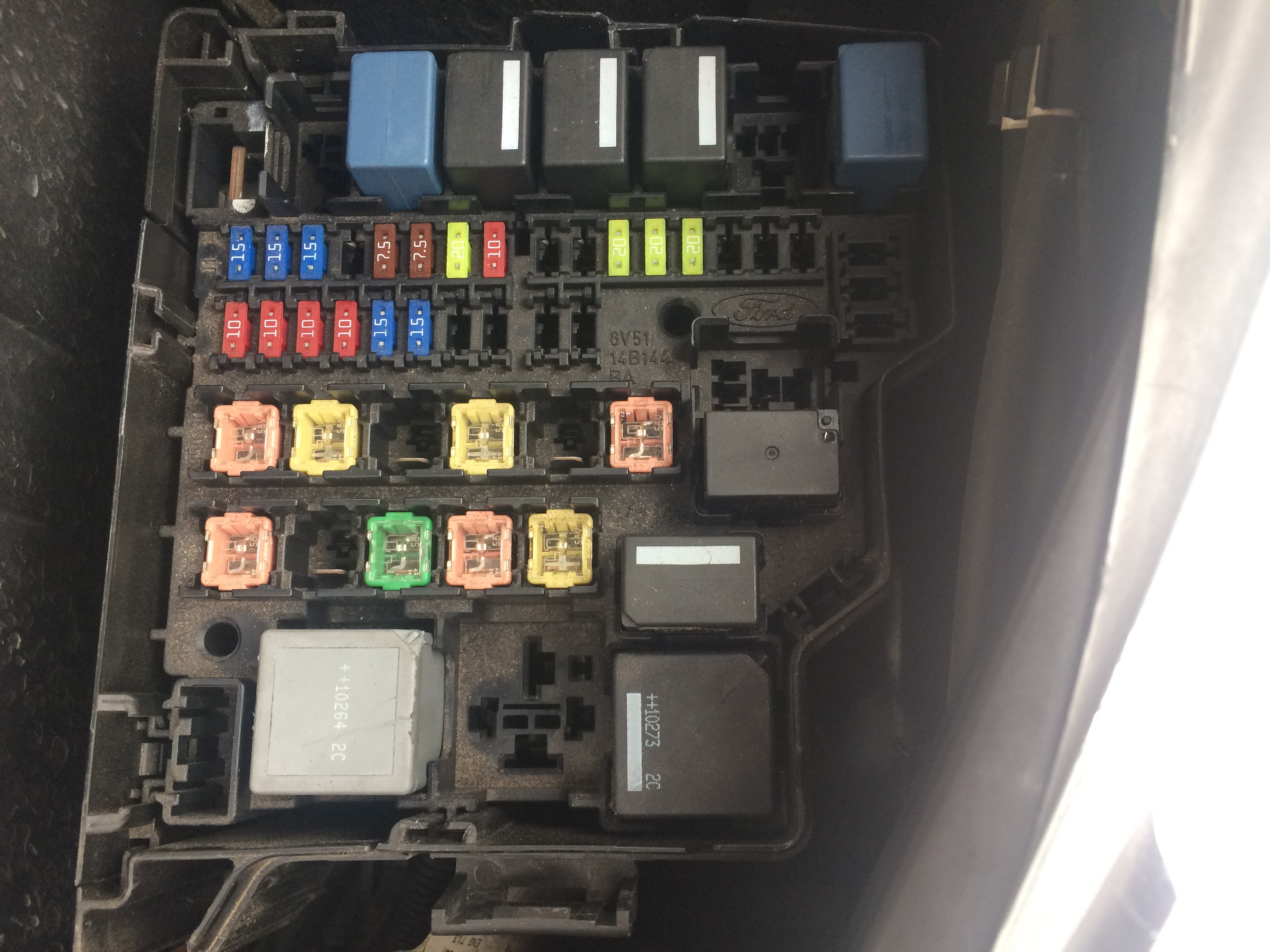 Ford Fiesta 1 25 Zetec Fuse Box Forum : Air con problem or not ford fiesta club owners