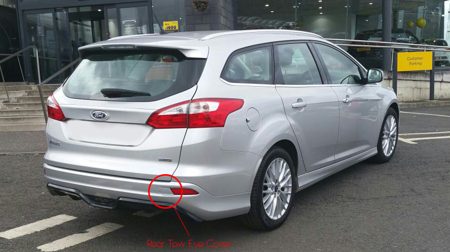 looking for a rear tow eye cover for my 2012 focus zetec s. Black Bedroom Furniture Sets. Home Design Ideas