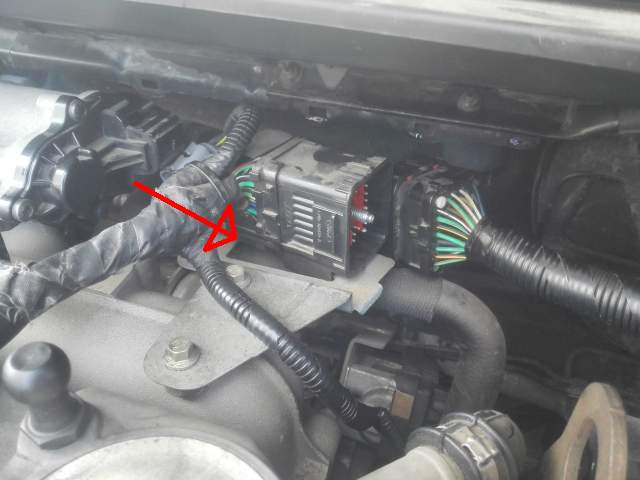 How to take off EGR for cleaning in Mk2 1,8 TDCI - Ford