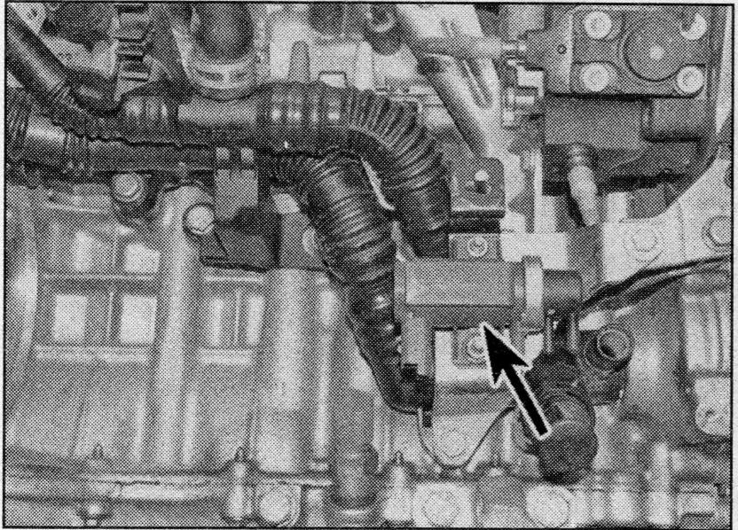 Boost control valve (Turbo vane control valve) location? - Ford