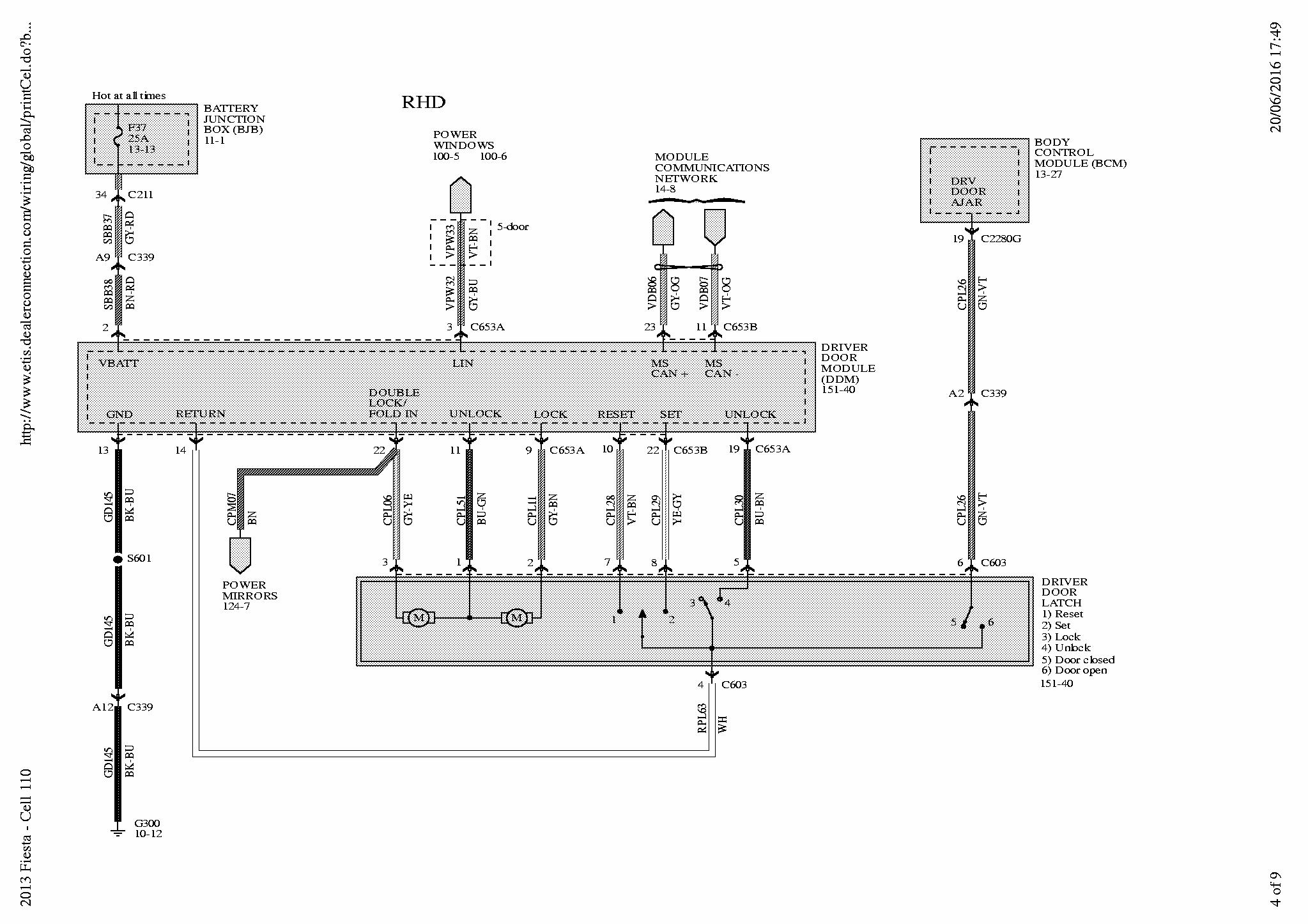 Ford Fiestum 06 Wiring Diagram