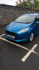 Candy Blue Zetec S