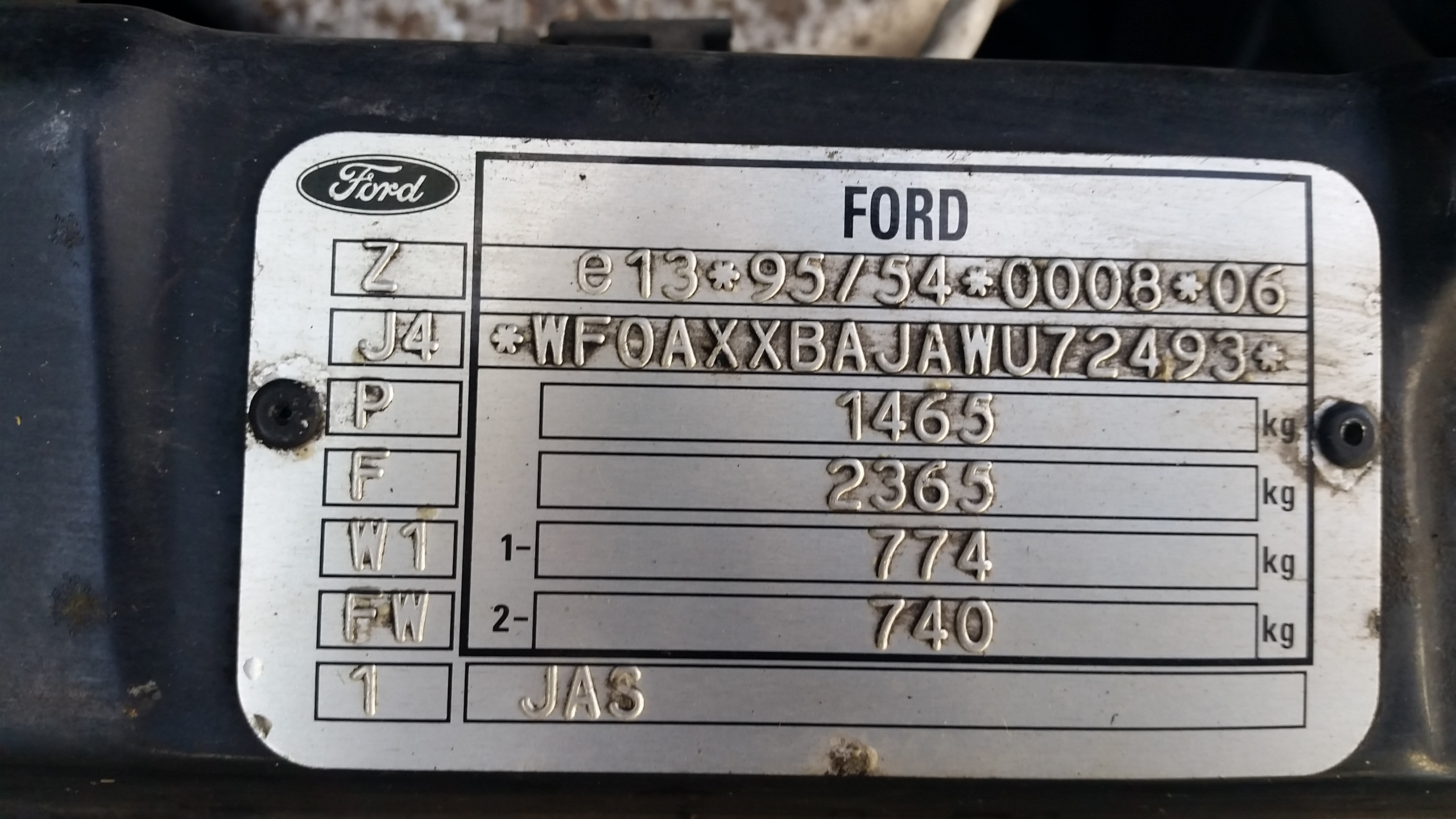 Paint Code Ford Fiesta Club Ford Owners Club Ford Forums