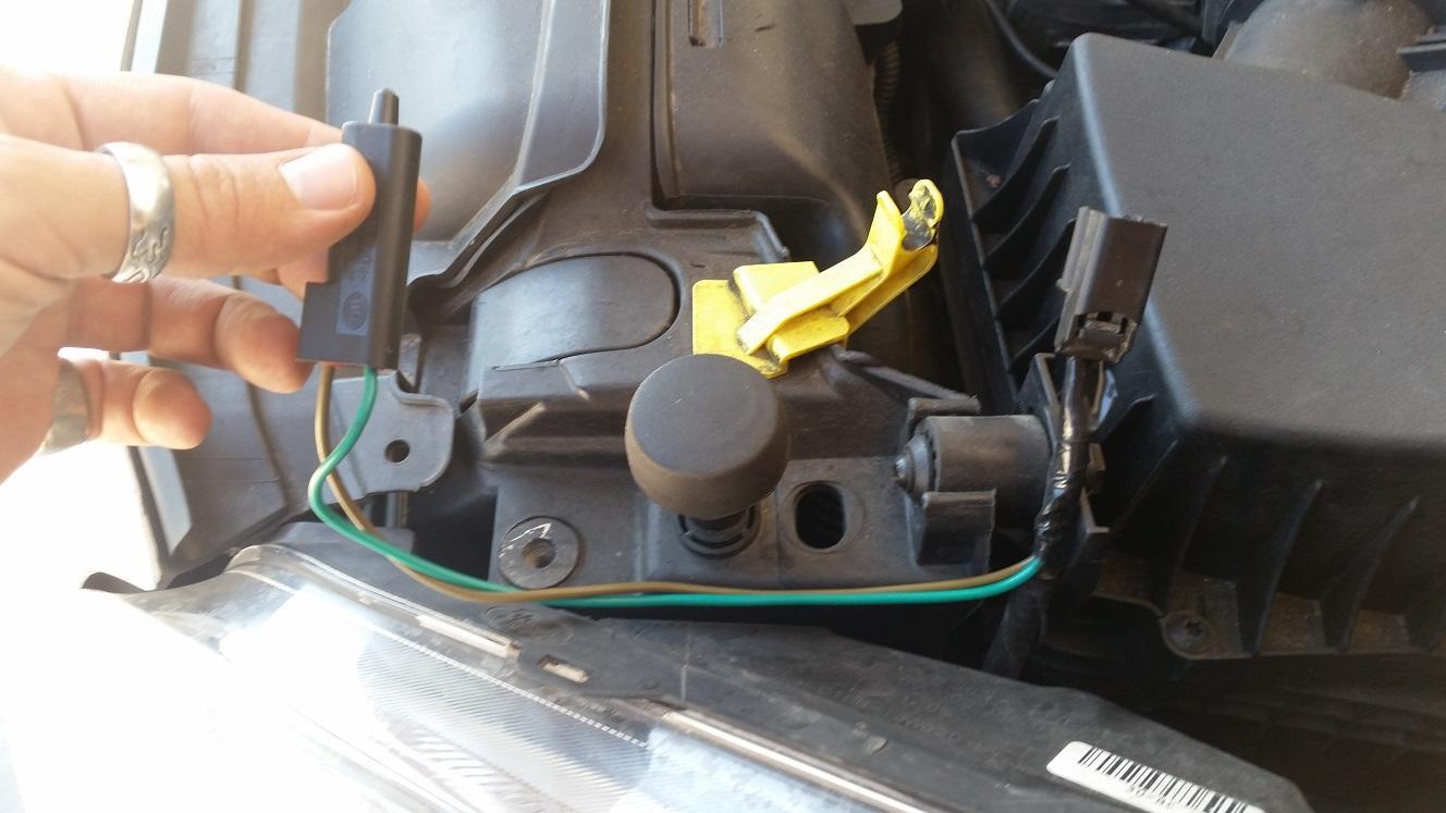 2013 Ford Fiesta Mk7 5 Ambient Air Temperature Sensor