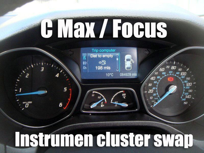 Swap and programming instrument cluster - Ford C-Max Club - Ford