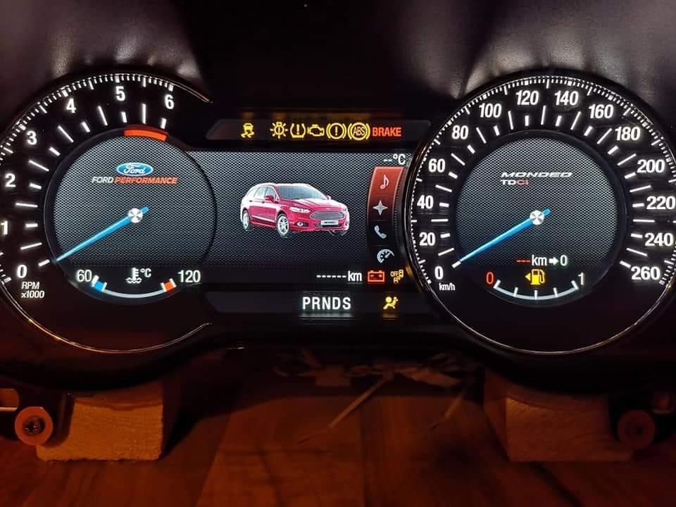 Mondeo MK5 ForScan Settings - Ford Mondeo / Vignale Club - Ford