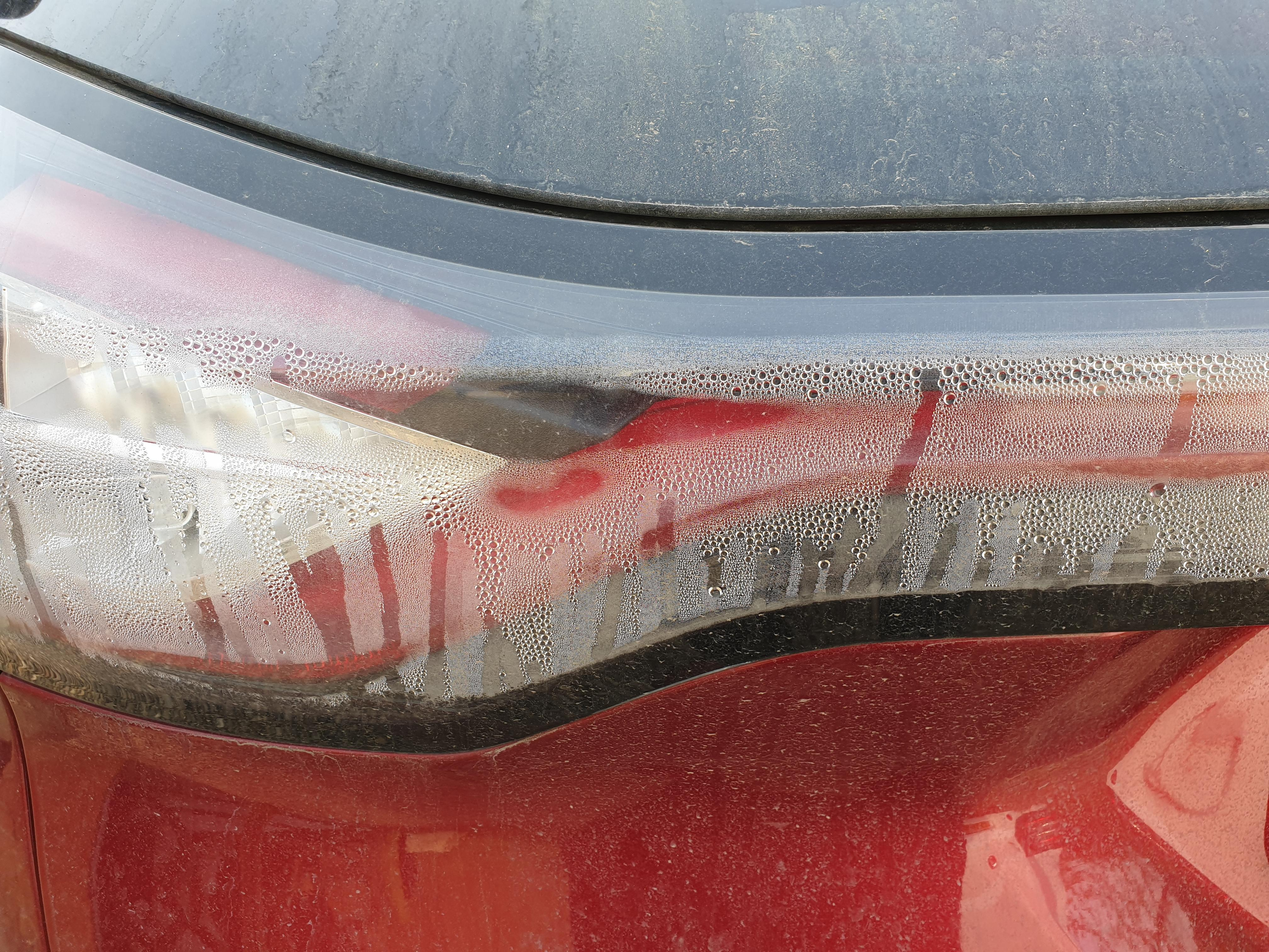 Condensation in rear lights - Ford Edge Club - Ford Owners Club
